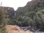 Waterfall from Hut Stream