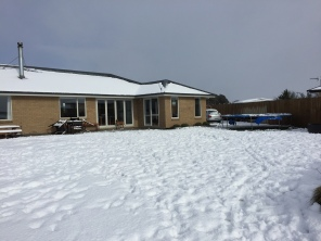 Plenty of snow at home