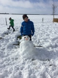 Top quality snowman from Isaac