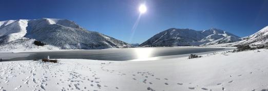 Looking North over Lake Lyndon
