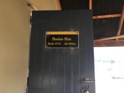 Basins hut