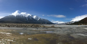 Looking East down the Waimakariri